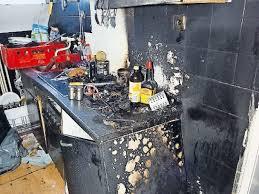 küche brennt vermutlich technischer defekt pirmasens