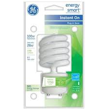 ge 26w cfl gu24 in base soft white compact fluorescent bulb