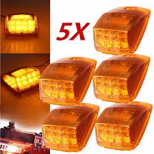 100 Running Lights For Trucks 5Pcs 17 LED 12V Car Truck Roof Marker Cab Top