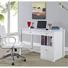 Computer Desks Walmart Canada by We Furniture Deluxe White Wood Computer Desk Walmart Canada