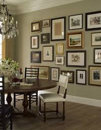 Crown Molding On Walls Ideas Family Picture Frame Wall Dining Room Transitional With