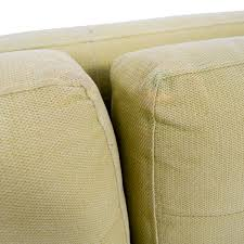 Crate And Barrel Petrie Sofa Slipcover by 55 Off Crate U0026 Barrel Crate U0026 Barrel Petrie Pale Green Tufted