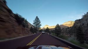 Springdale to Kanab via Zion National Park 12 May 2016