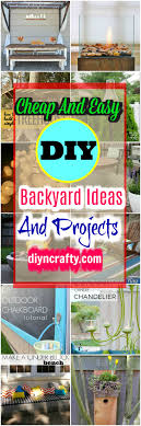 Cheap And Easy DIY Backyard Ideas And Projects• DIY & Crafts 22 Easy And Fun Diy Outdoor Fniture Ideas Cheap Diy Raised Garden Beds Best On Pinterest Design With Backyard Project 100 And Backyard Ideas Home Decor Front Yard Landscaping A Budget 14 Clever Firewood Racks Youtube Patio Home Depot Cover Plans Simple Designs Trends With Build Better 25 On Solar Lights 34 For Kids In 2017 Personable Images About Pool Small Pools