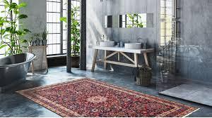 modernes badezimmer sieht aus wie persische