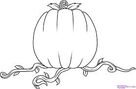 how to draw a pumpkin step 5