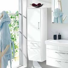 bad hänge hochschrank boisan in hochglanz weiß