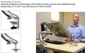 Vesa Desk Mount Arm by Esis Desk Mounts For Lcd Monitors Ergotron