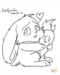 Chibi Bunny With Carrot