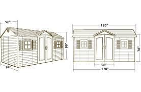Rubbermaid Roughneck Gable Storage Shed Assembly Instructions by Astonishing Storage Shed Dimensions 22 With Additional Rubbermaid