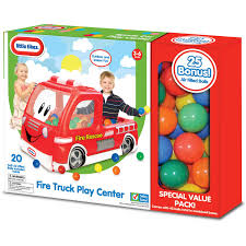 Little Tikes Fire Truck Play Center Ball Pit - Walmart.com Little Tikes Fire Truck Handy Hauler Cozy Coupe Fire Truck Youtube New Red Kids Toy Boy Girl 1843168549 Toddle Tots 2 Firemen Dog Vintage Engine Ride On Rollcoaster Archives 3 Birds Toys Rental Vintage Little Tikes Huge Engine Rare 1699 Amazoncom Spray Rescue Riding Play With A Purpose Pillow Racers Waffle Blocks Vehicle The Warehouse