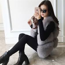 online buy wholesale real fur vests for women from china real fur