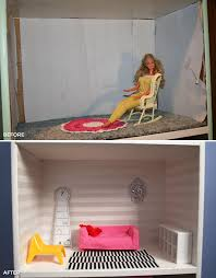 Barbie Living Room Furniture Diy by Diy Barbie House Makeover Sweet Magpie
