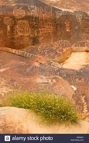 Petroglyphs In Grapevine Canyon Along Christmas Tree Pass Road Lake Mead Recreation Area Near Laughlin Nevada