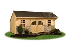 Metal Storage Shed Doors by Providence Carriage Style Pine Creek Structures