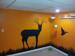 Sons Hunting Theme Bedroom