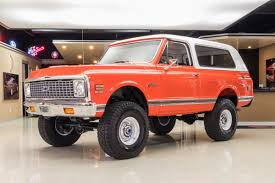 1972 Chevrolet Blazer | Classic Cars For Sale Michigan: Muscle & Old ...