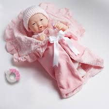 Berenguer Baby Dolls Newborn Doll With Pink Outfit JC Toys JC