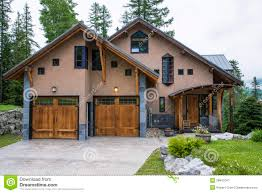 100 Contemporary Houses In Ski Resort Stock Image Image Of