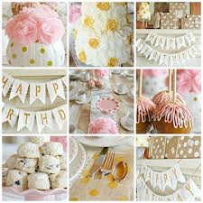 Pink White And Gold Birthday Decorations by 36 Best Birthday Party Decorations Images On Pinterest Birthday
