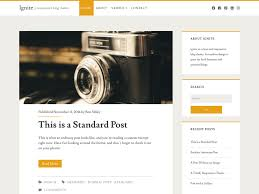 100 Modern Design Blog Free Templates Wordpress Ignite Is A Clean And