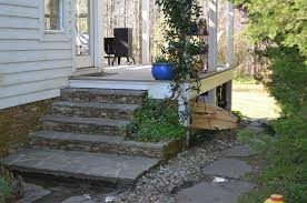porch storage with steps porch traditional and