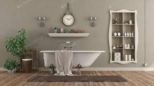 klassisches badezimmer mit badewanne und nische mit objekten foto archideaphoto auf envato elements