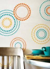 Wall Painting Design Patterns Decorative Designs Modern Paint House Colors Interior