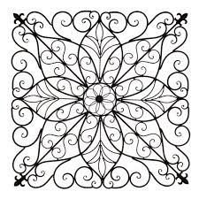 Wayfair Outdoor Wall Decor by Square Grapevine Iron Wall Art Panel U2014 The French Peddler