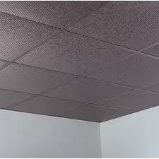 Vinyl Ceiling Tiles 2x2 by Fasade Ceiling Tile 2x2 Suspended Rib In Galvanized Steel