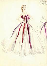Schiaparelli Gown White Red Bows