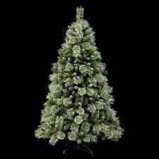 Cashmere Christmas Tree Fir Cone Berry Pre Lit Green 7ft