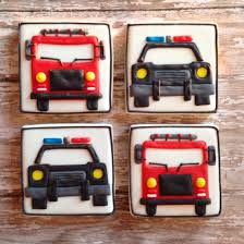 Rescue Vehicles~ By SweetCBakeShop On Etsy, $42.00, Black Police Car ...