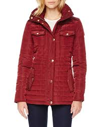 Lyst Michael michael kors Quilted Puffer Jacket in Red