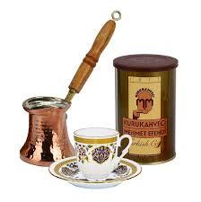 Turkish Coffee Set For One With Mehmet Efendi