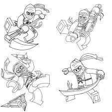 Ninjago Coloring Pages Free