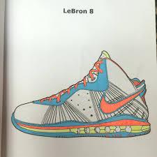 Coloring Book Sneaker Online App Pdf Download Large Size