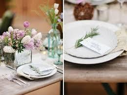 Modern Rustic Wedding Decorations Herb Inspired Ideas