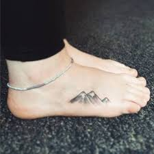 Simple Tattoo On The Foot