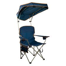 Outdoor Quik Shade MAX Navy Camp Chair With Canopy ...