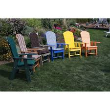 Polywood Adirondack Chair Cushions by Poly Upright Adirondack Chair