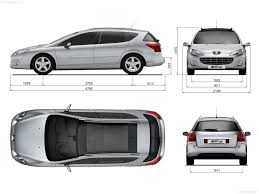 Peugeot 407 SW 2009 picture 23 of 23