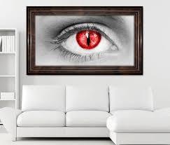 3d wandtattoo auge rot vir horror selbstklebend wandbild wohnzimmer wand aufkleber 11l471 3dwandtattoo24 de
