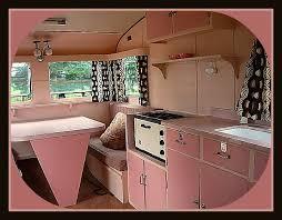 50s Vintage Camper Interiorlove The Pink