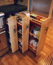 chic narrow storage cabinet for kitchen best 25 small kitchen
