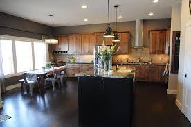 modern kitchen island lighting inspiration in stylish rustic style
