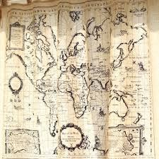 World Map Atlas Valance Curtain World Map Shower Curtain Ideas