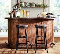 Lawrence Demilune Bar Cabinet