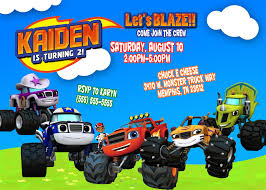 Blaze And The Monster Machines Birthday Invitations | Birthdays Mr Vs 3rd Monster Truck Birthday Party Part Ii The Fun And Cake Monster Truck Food Labels Mrruck_party_invitions_mplatesjpg Unique Free Printable Grave Digger Invitations Gallery Marvelous Ideas At In A Box Cool Blue Card Truck Birthday Blaze The Machine Invitation On Design Of Jam Ticket Style Personalized 599 Sophisticated Photo Christmas Card