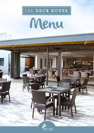 100 The Deck House Anglesey Restaurant Silver Bay Holiday Village